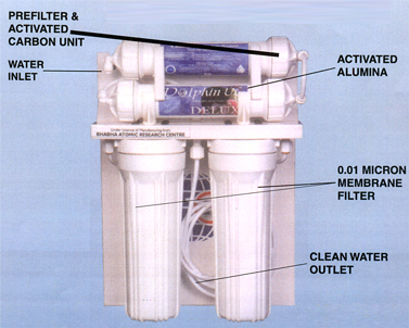 Water Purifier Bhabha Atomic Research Centre Oorja Solutions in Thane